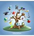 Education tree concept vector image