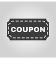 The coupon icon Discount and gift offer symbol vector image
