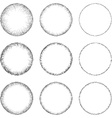 Circle Shape Set vector image