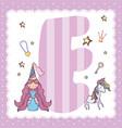e alphabet letter for kids vector image