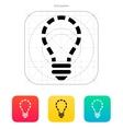 No light icon vector image