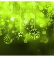 Merry Christmas Elegant Background EPS 8 vector image vector image