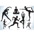 Exercises vector image