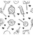 candy doodle style vector image