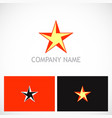star geometry company logo vector image