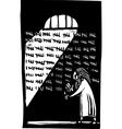 Prison vector image vector image