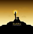 Buddha vector image