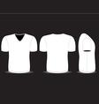 blank t shirt vector image