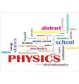 science words vector image
