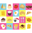 Food Texture vector image