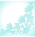 Delicate lace background abstract ornament vector image vector image