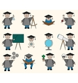 Bachelor or Education Set vector image