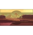 Happy Autumn Story vector image