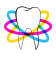 dentistry logo vector image vector image