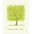 Abstract green tree for your design vector image vector image