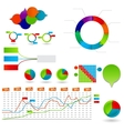 Concept of colorful circular banners vector image