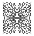 traditional celtic ornament vector image
