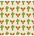 icon cactus mexican design vector image