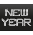 word new year 01 vector image vector image