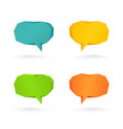 collection of speech and thought vector image