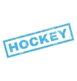 Hockey Rubber Stamp vector image