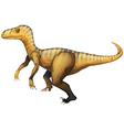 Velociraptor vector image