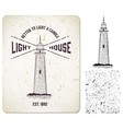 0000 light house vector image
