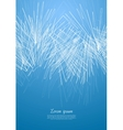 Concept blue design with abstract lines vector image