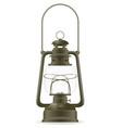 kerosene lamp old retro vintage icon stock vector image