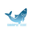 herring logo vector image vector image