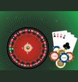 casino gambling vector image