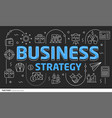 lines template business strategy vector image