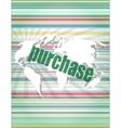 trading word on digital screen global vector image