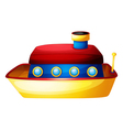 A toy ship vector image vector image