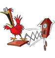 cuckoo vector image