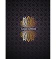 Floral Logo design vector image
