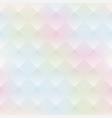 watercolor geometric seamless pattern vector image