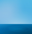 Wallpapers ripple sea landscape with the horizon vector image