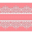 floral lace background vector image