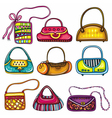 handbag purses vector image