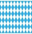 Oktoberfest blue pattern vector image