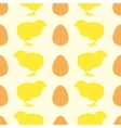 Seamless pattern with chick vector image