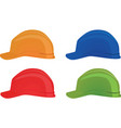 safety helmets vector image