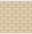 Seamless pattern of fabric lace ribbons vector image