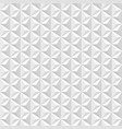 white geometric 3d texture vector image