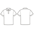 Polo t-shirt vector image