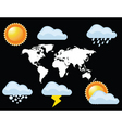 2008723 weather vector image vector image