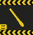 Iron file icon vector image