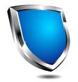 Modern Blue Shield vector image