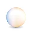 shiny ball vector image
